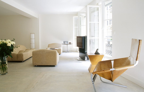 3 rooms by azzedine ala a paris hotel yellowtrace for Hotel design paris 8