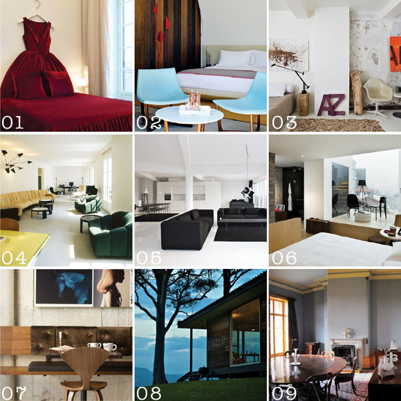 Travel/ Hotels + Design Events | 2010 Archive.