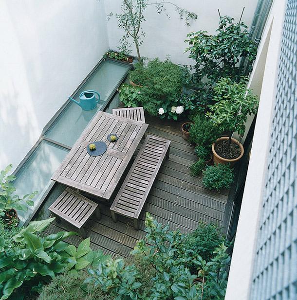Garden Apartment: Paris, France. - Yellowtrace