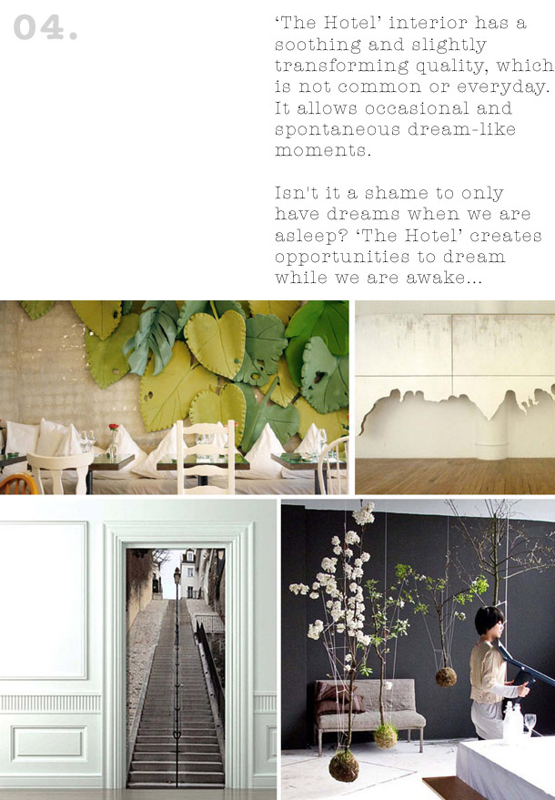 Concept mood boards bohemian boutique hotel yellowtrace for Concept hotel boutique