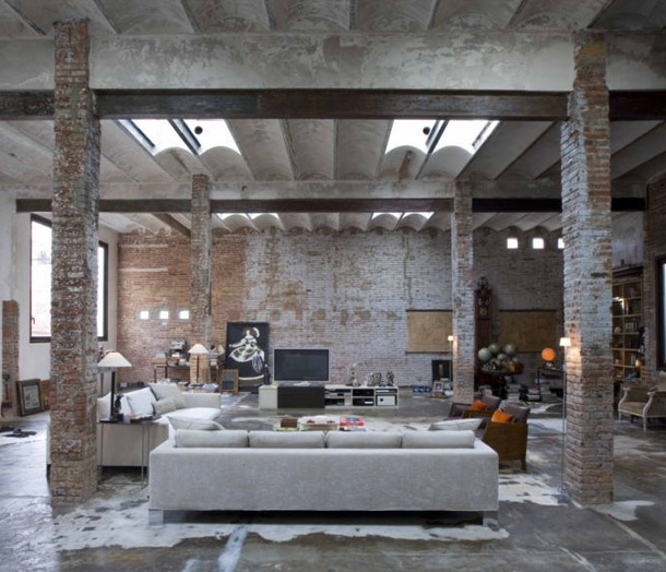 Industrial loft by minim barcelona yellowtrace - Location loft barcelone ...