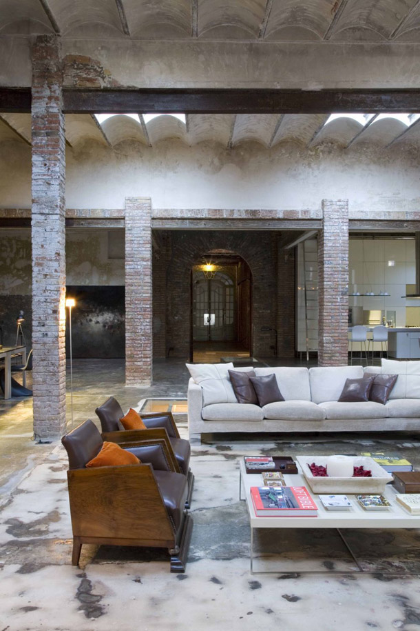 industrial loft by minim barcelona yellowtrace