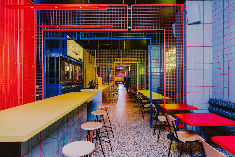 Biggy Fast Food Restaurant In Wroclaw By Buckstudio Yellowtrace