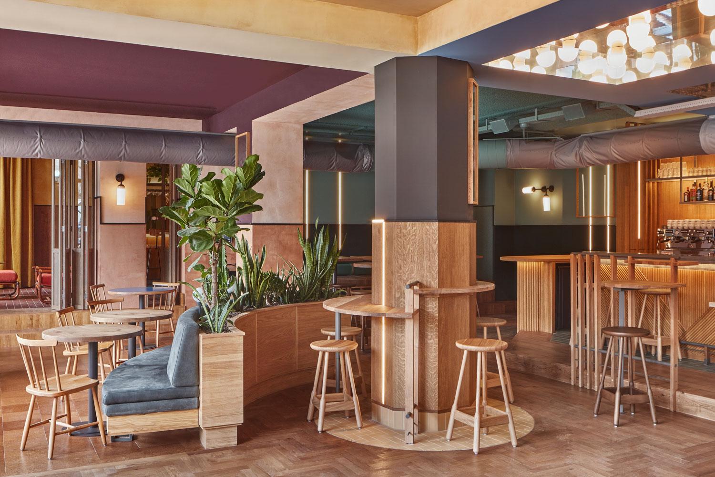 Karavaan Amsterdam Cafe Bar By Studio Modijefsky Yellowtrace