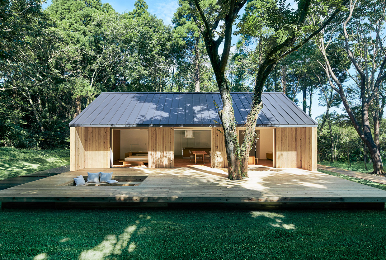 Muji Unveil Their Latest Tiny Prefab House | Yellowtrace