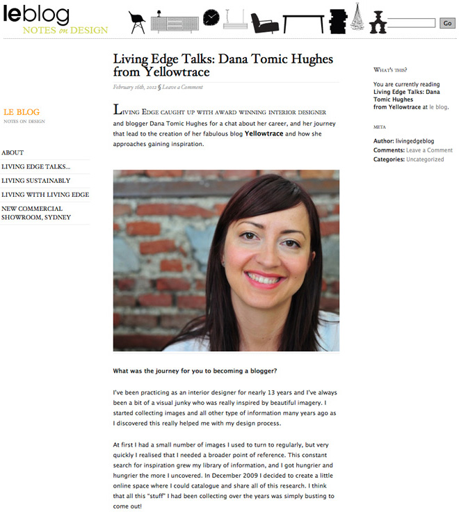 yellowtrace-dana-tomic-hughes-interview-on-living-edge-blog