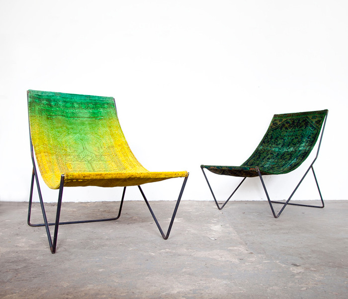 Rug Sling Chairs | Still + Co. with Sit and Read.