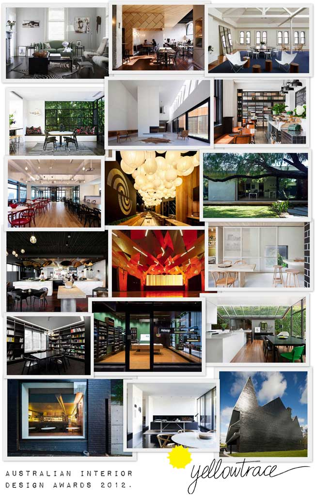 Australian Interior Design Awards | 2012 Shortlist.