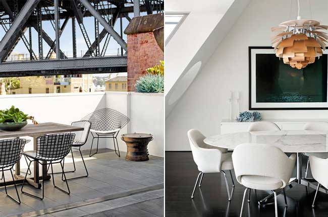 Sydney Harbour Penthouse, NSW by Sarah Davison Interior Design. Photography  by Prue Ruscoe.