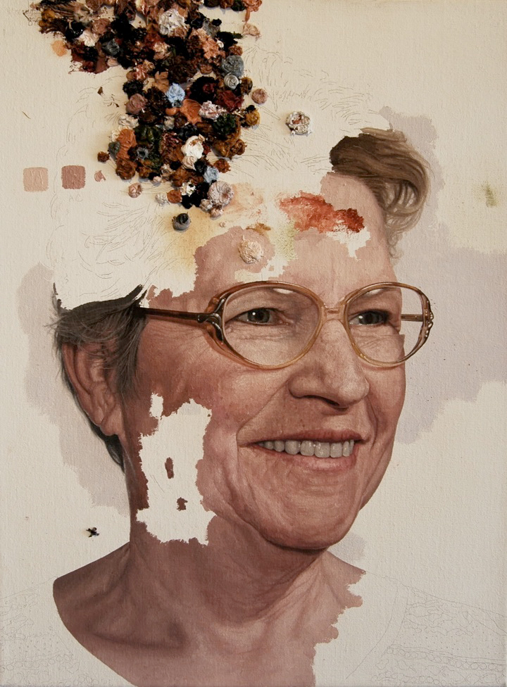 unfinished portraits by colin chillag