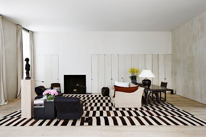 Vincent Van Duysen's Home In Antwerp. - Yellowtrace