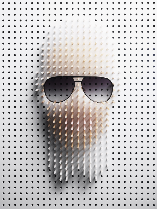 Design Free Thursday | Pin Portraits by Philip Karlberg.