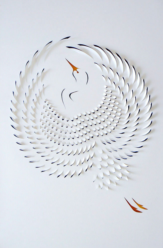 Artistic Paper : Paper Art by Lisa Rodden. - Yellowtrace
