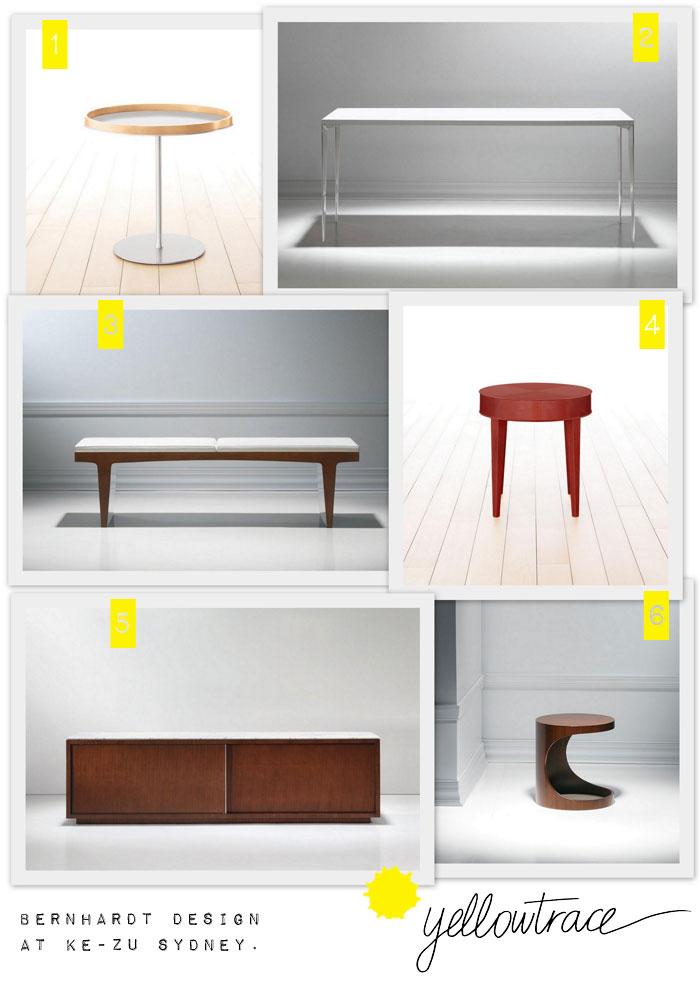 Bernhardt design at ke zu super hot giveaway yellowtrace for Table ke design