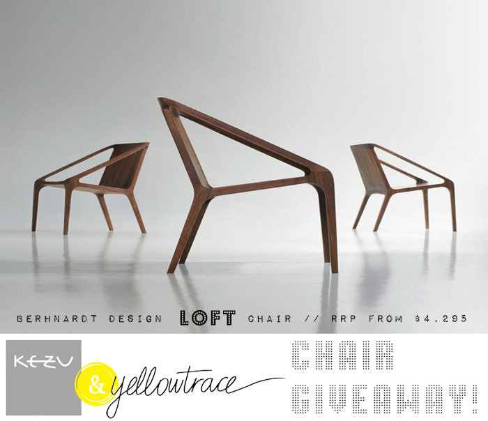 Bernhardt Design at KE-ZU + Super HOT Giveaway!