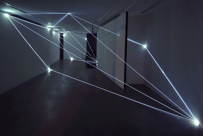 Sculpting And Manipulating Space With Light Yellowtrace