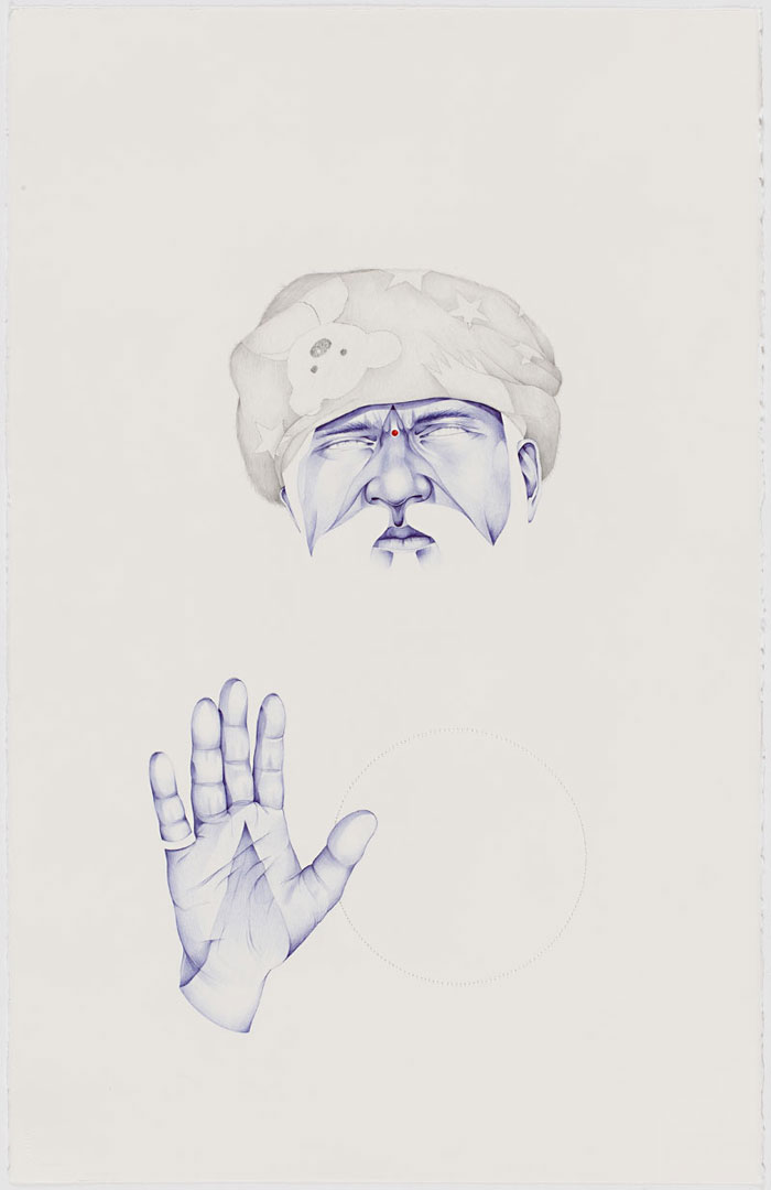 Laith Mcgregor Untitled Swami 1 2011 Yellowtrace