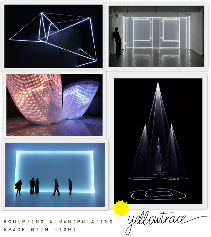 Sculpting and Manipulating Space With Light.