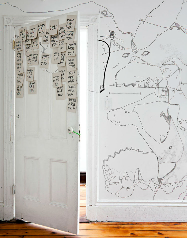 yellowtrace_Shantell-Martin_Illustrated-Brooklyn-Apartment_01