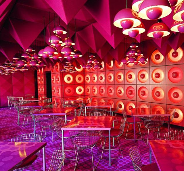 Verner Panton Interiors Restaurant Varna Amp Spiegel