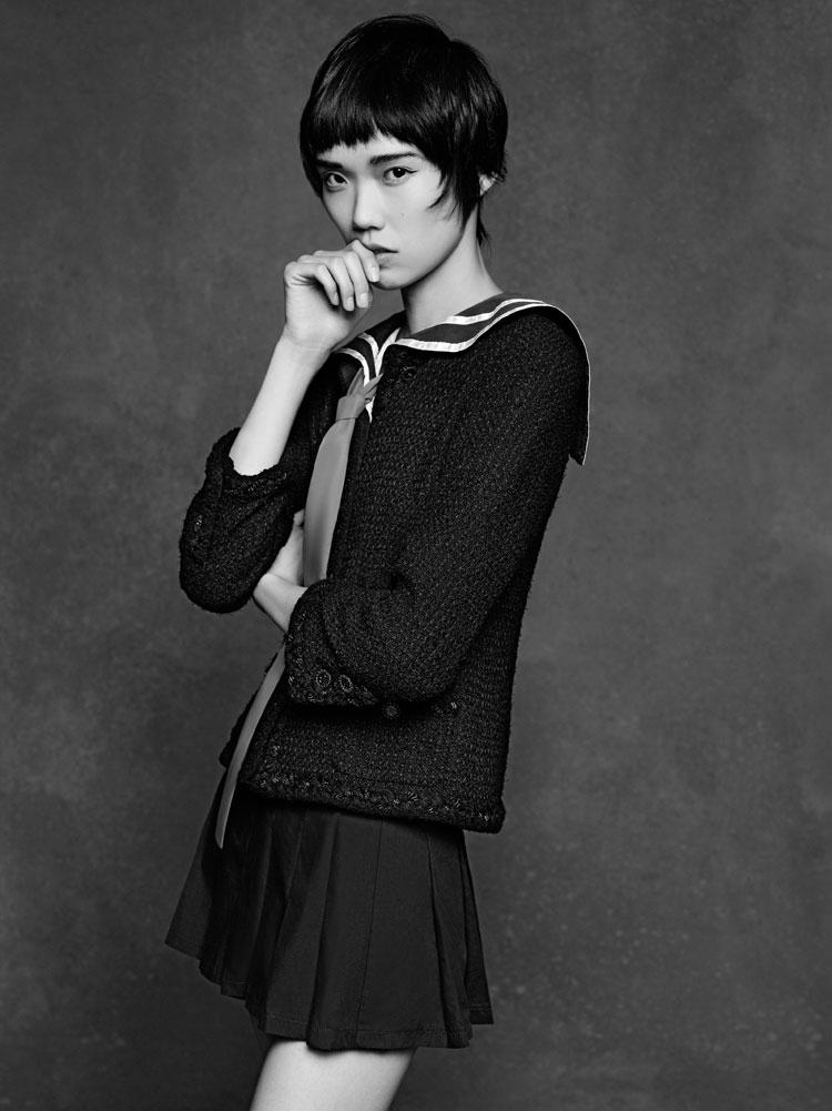 CHANEL&39s &quotThe Little Black Jacket&quot. Karl Lagerfeld&39s portrait of