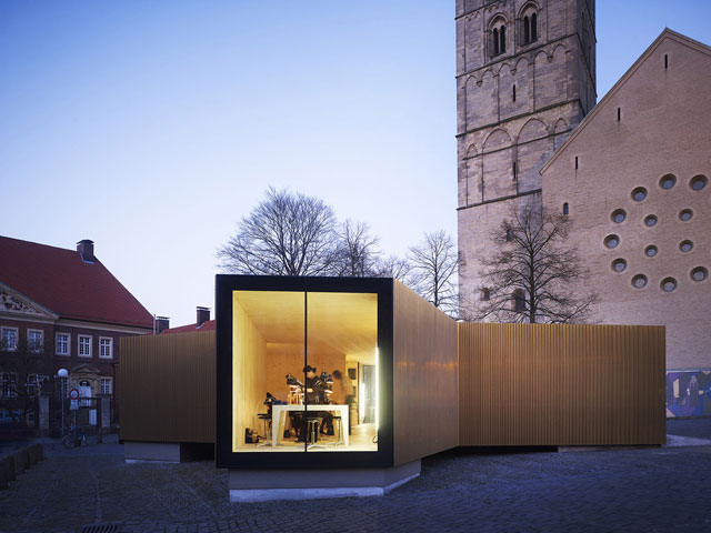 Golden Workshop by modulorbeat // Münster, Germany.