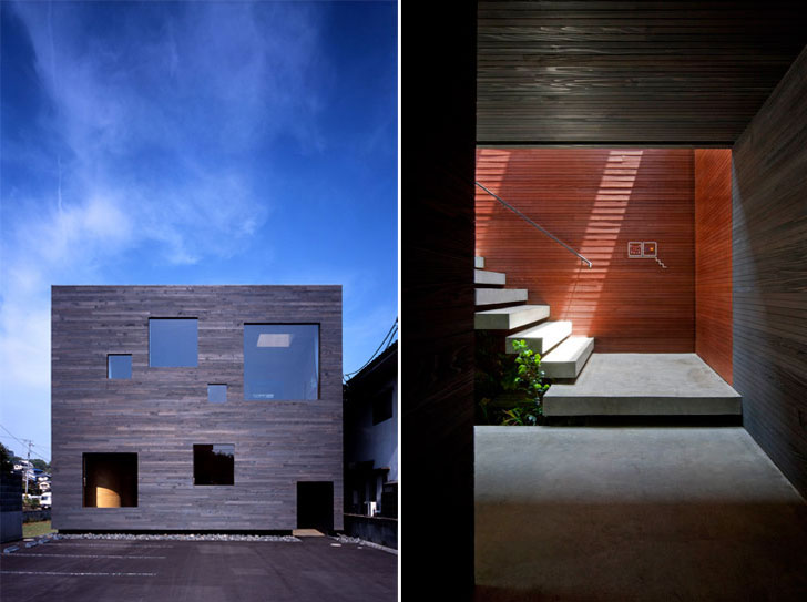 Mori x Hako, Hiroshima, Japan // UID Architects.