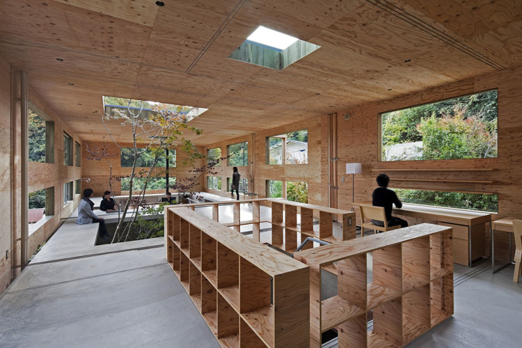 Nest, Hiroshima, Japan // UID Architects.