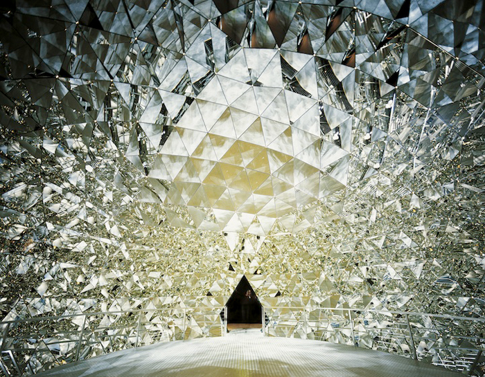 The Crystal Dome at Swarovski Kristallwelten // Wattens, Austria.