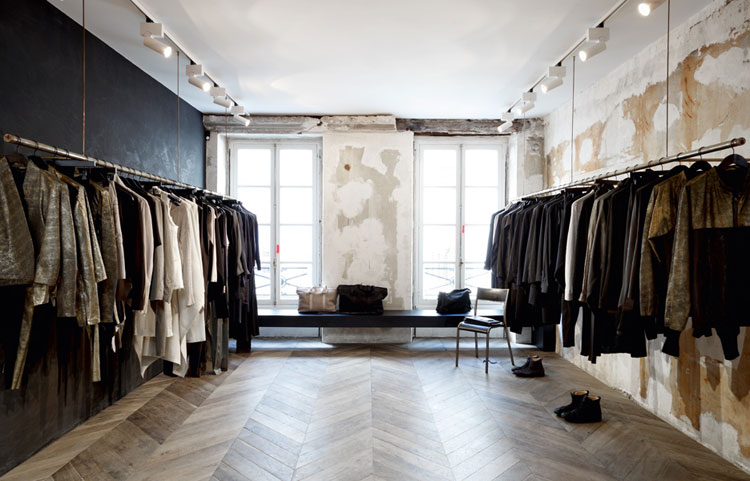 damir doma store by march studio paris france yellowtrace. Black Bedroom Furniture Sets. Home Design Ideas