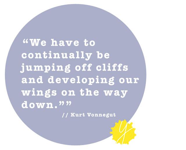 - Kurt Vonnegut.
