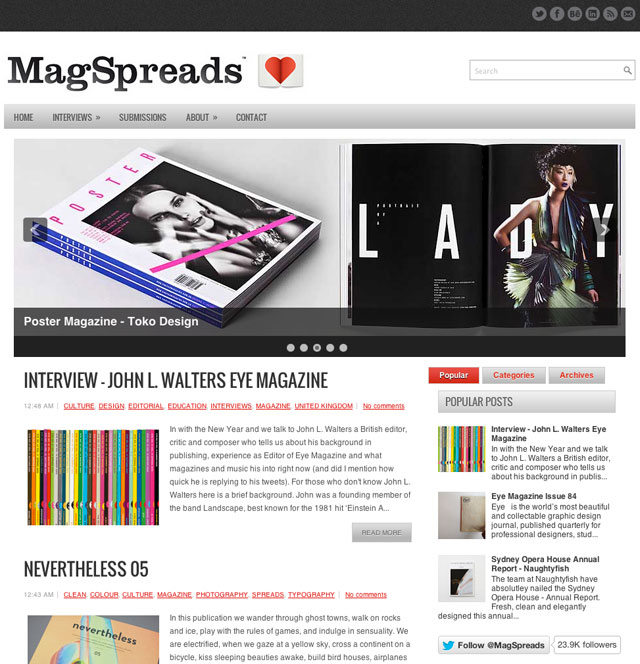 Yellowtrace Spotlight // MagSpread.