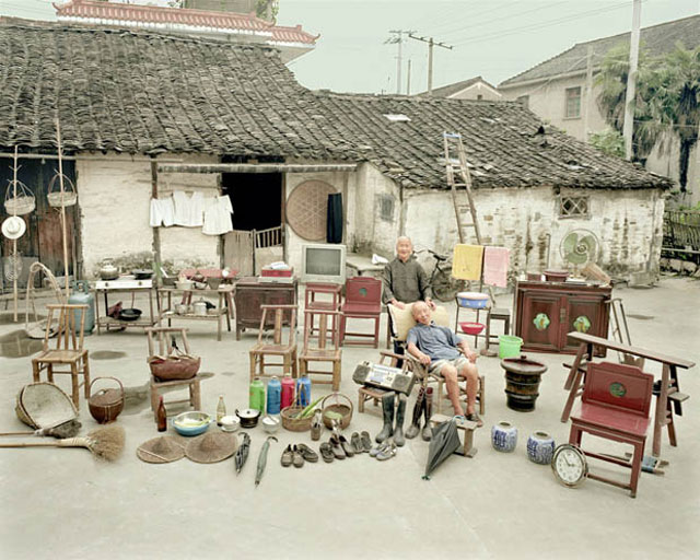 Jiadang (Family Stuff) photography project in China by Huang Qingjun.