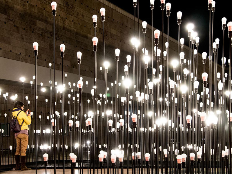 LEDscape by LIKE ARchitects// Lisbon, Portugal.