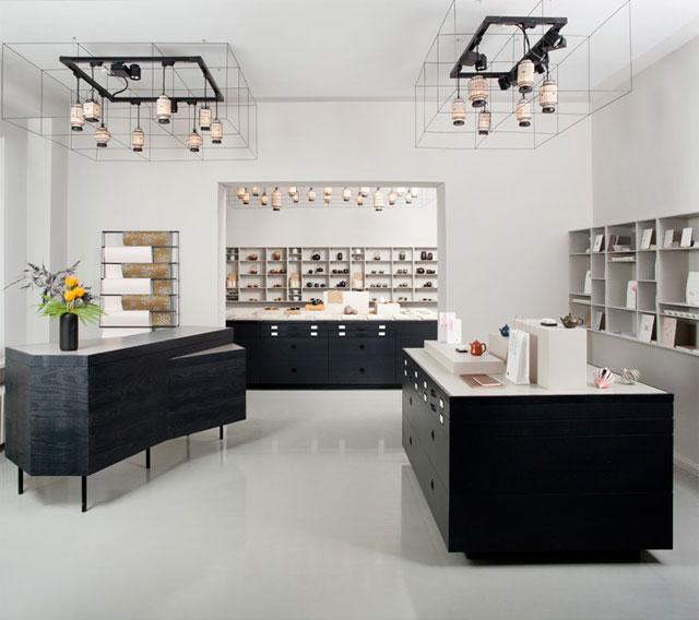 paper tea concept store by fabian von ferrari berlin yellowtrace. Black Bedroom Furniture Sets. Home Design Ideas