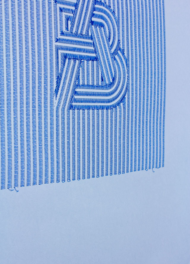 Pens & Needles // CUSTHOM vs Andre Beato, detail.