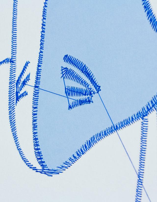 Pens & Needles // CUSTHOM vs David Longshaw, detail.