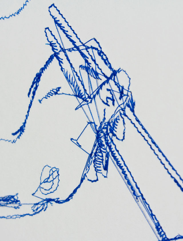 Pens & Needles // CUSTHOM vs David Sparshott, detail.