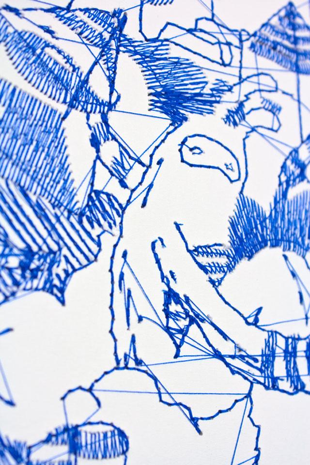 Pens & Needles // CUSTHOM vs Giedre Domzaite, detail.