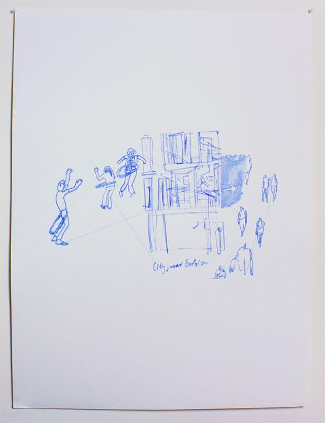 Pens & Needles // CUSTHOM vs Ink Illustration.