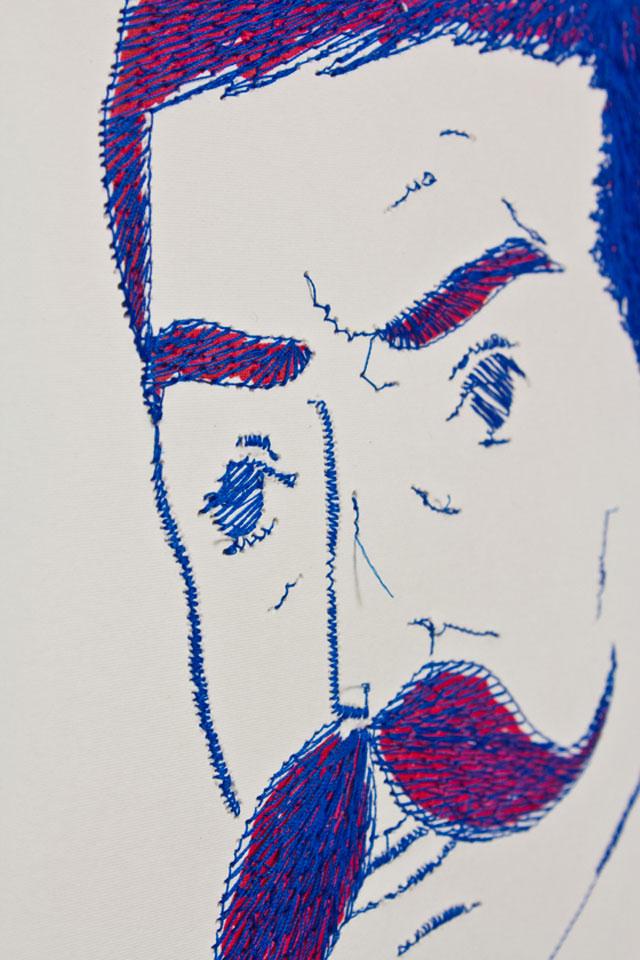 Pens & Needles // CUSTHOM vs Paul Blow, detail.