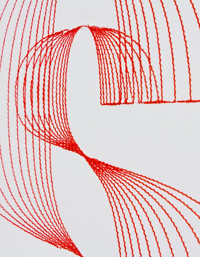 Pens & Needles // CUSTHOM vs Silvia Biaz, detail.