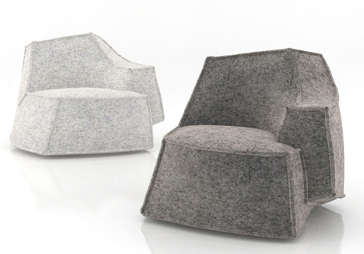 Airberg seating by Jean Marie Massaud for Offecct | Yellowtrace.