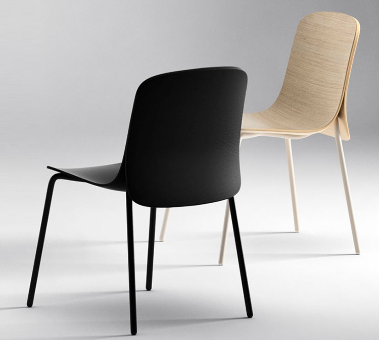 Cape chair by Nendo for Offecct | Yellowtrace.