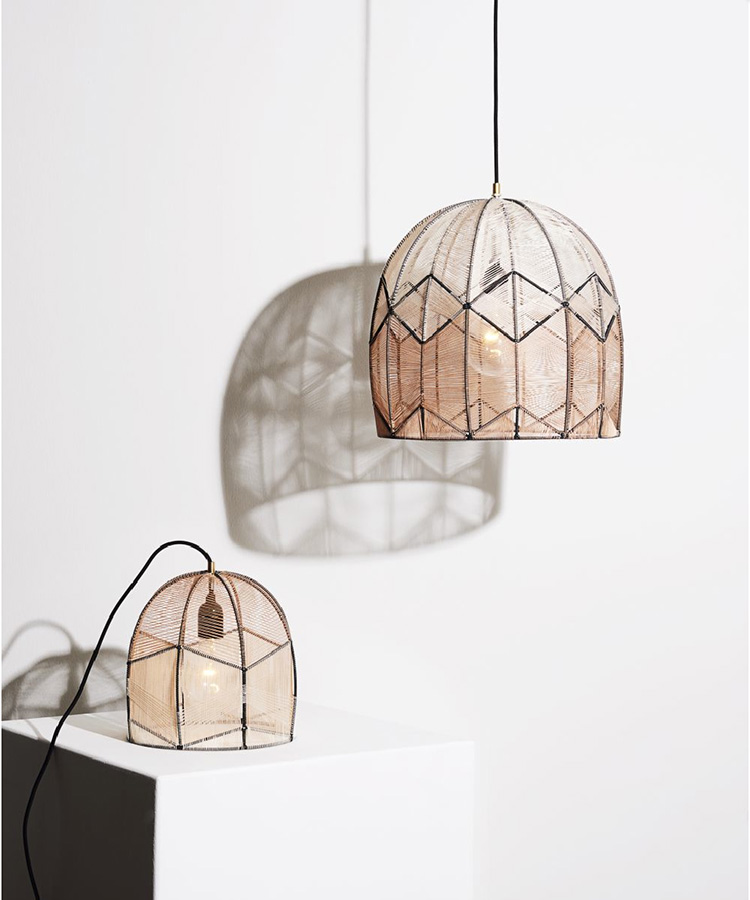 Intricate Lamp by Alexandra Raben | Yellowtrace.
