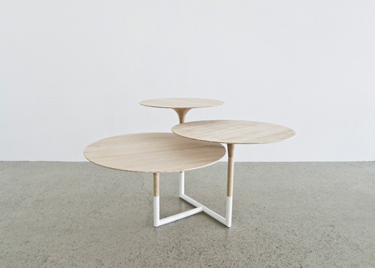 Kantarell Table by Maria Bjorlykke | Yellowtrace.