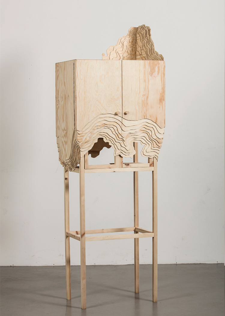 Nate cabinet by Lisa Berkert Wallard | Yellowtrace.
