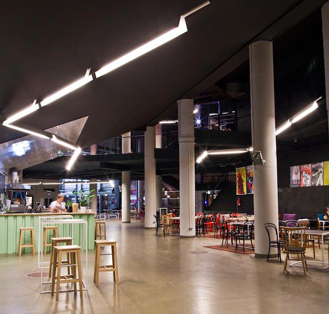 interior design for cinema foyer