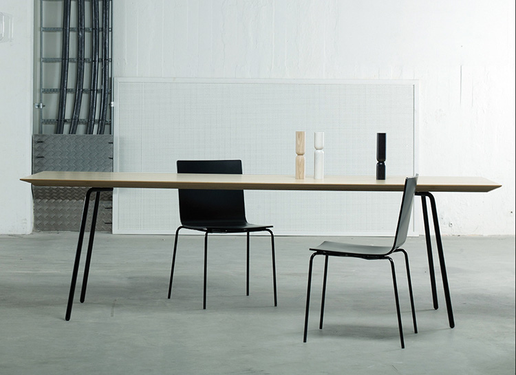 Paper table & chair by Claesson Koivisto Rune for David Design | Yellowtrace.