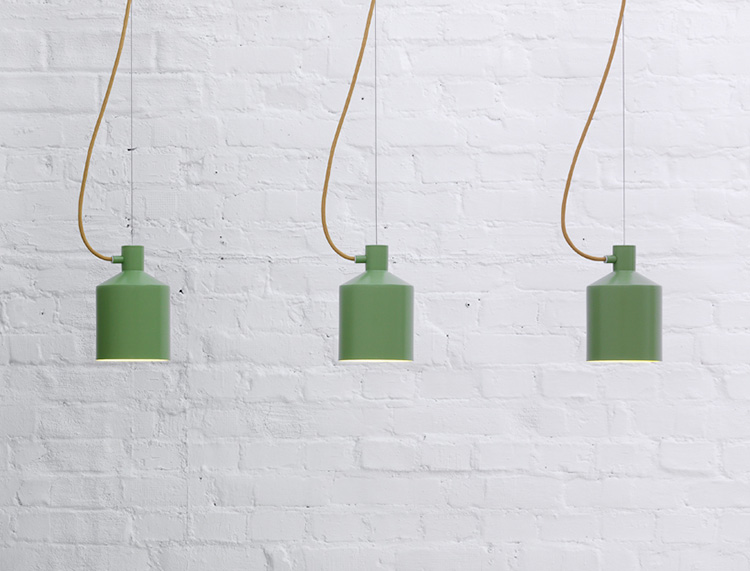 Silo pendant lamp by Note Design Studio for Zero | Yellowtrace.